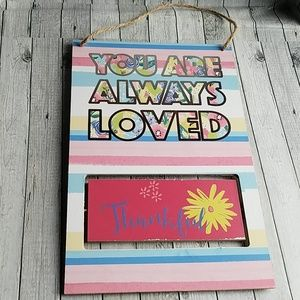 CUTE WALL DECOR YOU ARE ALWAYS LOVED💞💖